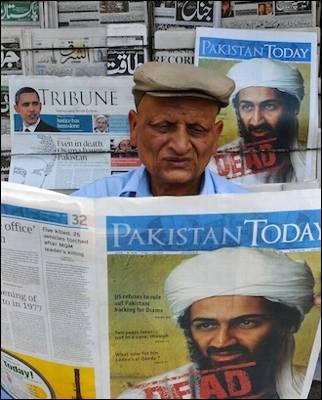 Pakistán está enviando mensajes ambiguos sobre la operación que acabó con el asesinato de Osama Bin Laden el domingo. AFP