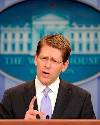 Jay Carney, secretario de Prensa de la Administración Obama.