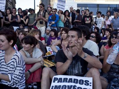 'The Economist'elogia el movimiento español. EFE