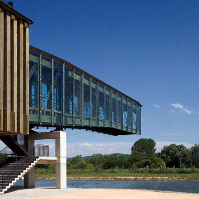 Imagen de Ataria, Centro de Interpretación de los humedales de Salburua, en el municipio de Vitoria-Gasteiz.