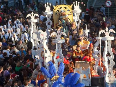 Cabalgata de los Reyes Magos de Cordoba. ENRIQUE GÓMEZ