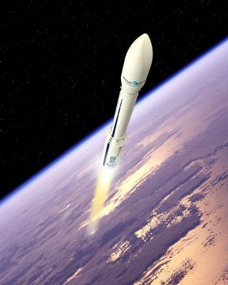 El cohete Vega.