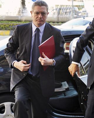 El ministro Ruiz-Gallardón en imagen de archivo/EFE