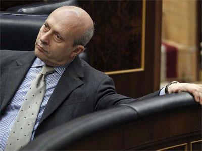 El ministro de Educación, José Ignacio Wert. EFE
