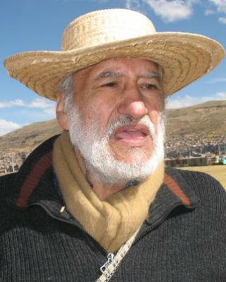 El líder campesino peruano, Hugo Blanco.