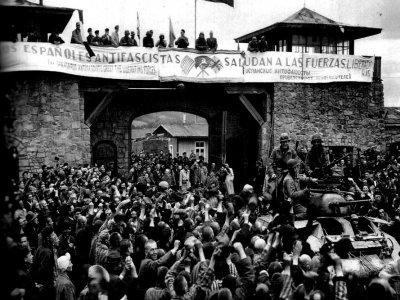 Españoles en el campo de Mathausen