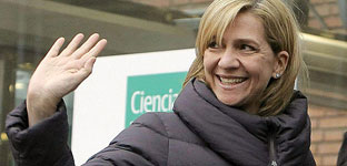 El fiscal rechaza imputar a la infanta Cristina al no ver indicios contra ella