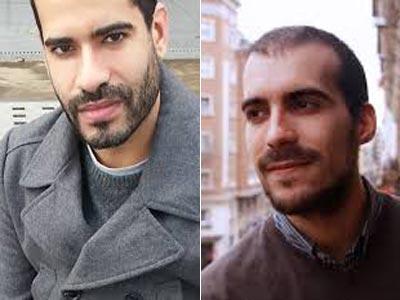 Fabio Gándara y Pablo Gallego en dos fotos de archivo.