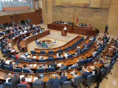 Imagen de la Asamblea de Madrid. -EUROPA PRESS