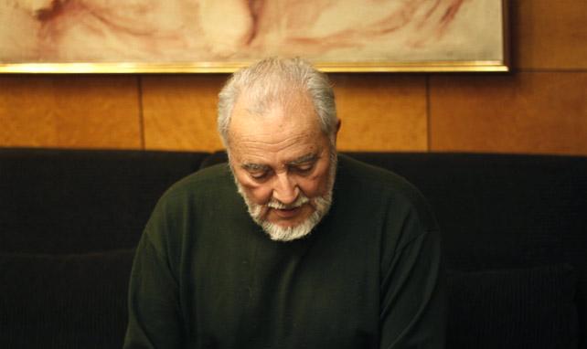 Julio Anguita, en una entrevista con 'Público' el pasado mes de diciembre.