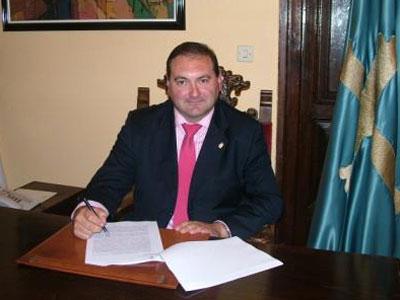 El alcalde de Lena, Ramón Argüelles Cordero.