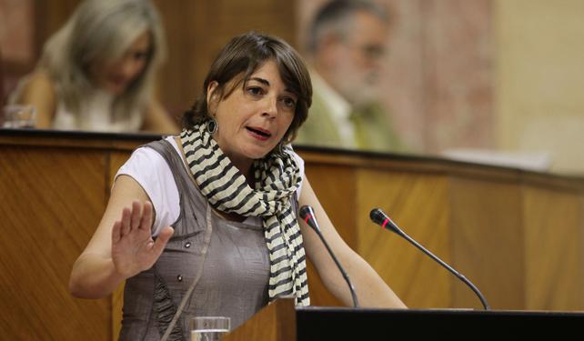La consejera de Fomento y Vivienda de la Junta de Andalucía, Elena Cortés.