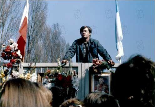 El hombre de hierro : photo Andrzej Wajda, Jerzy Radziwilowicz