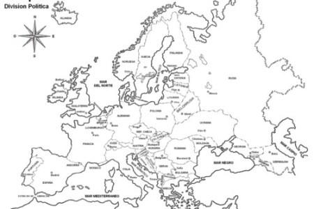 best Mapa De Europa Asia Y Africa Para Colorear image collection