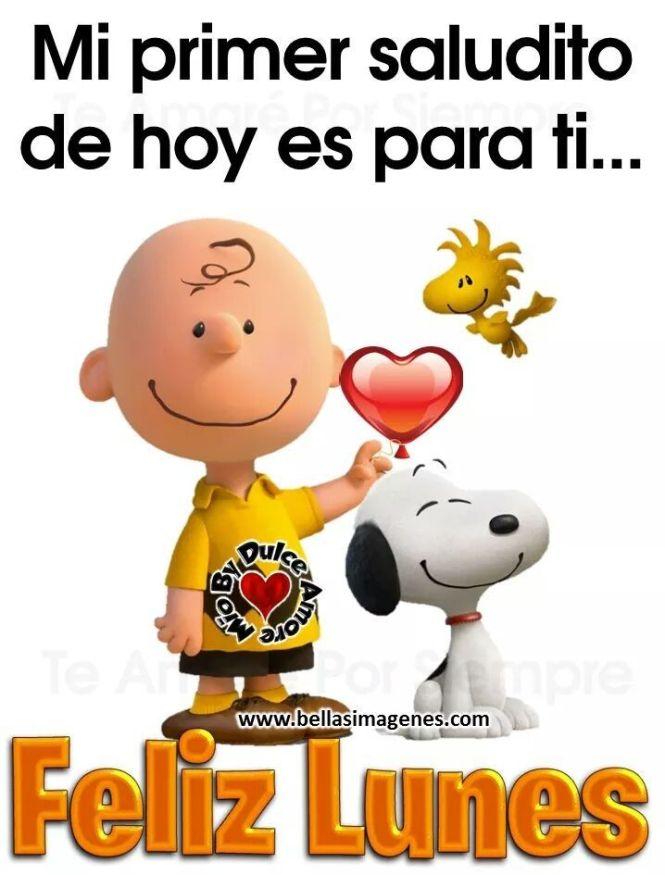 Buenos Días Snoopy Dice