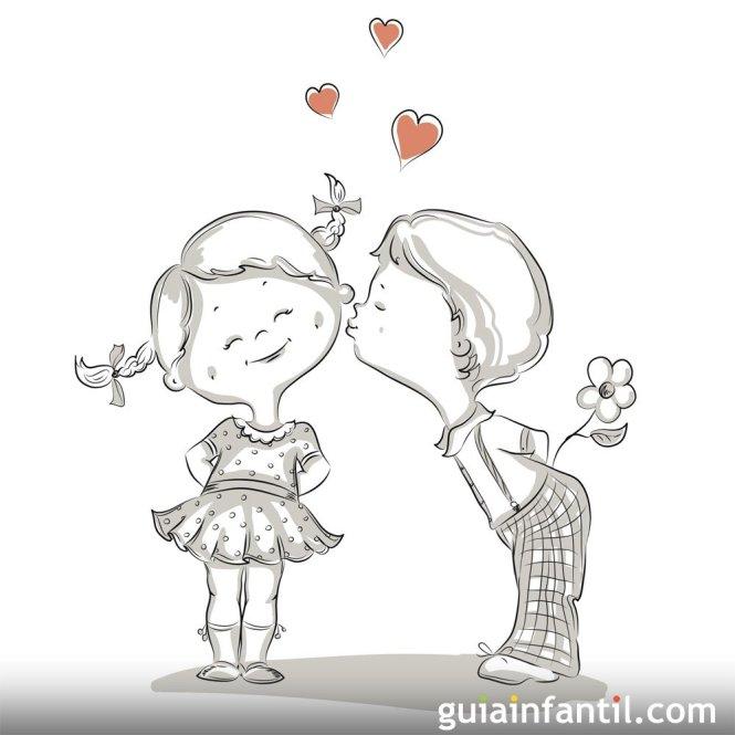 Dibujos Chidos de Amor en Imágenes para Colorear Gratis