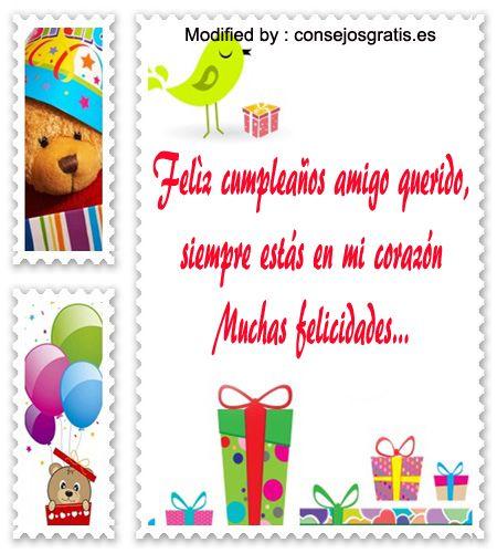 Fotos de Cumpleaños y Felicidades para La Amistad