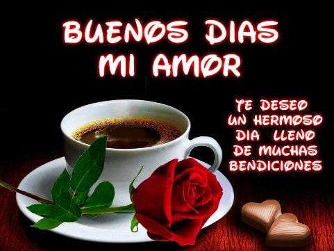 Frases de Buenos Dias Para el Amor De Mi Vida