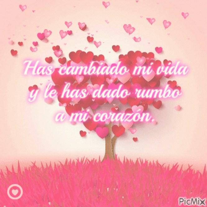 Imágenes de Corazones con Versos de Amor para Dedicar