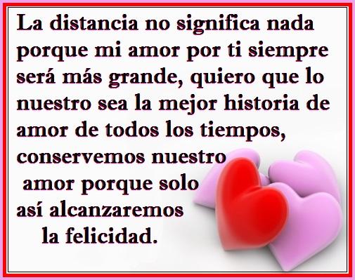 Imagenes Con Frases Cortas De Amor A Distancia
