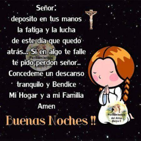 Oraciones Católicas de Buenas Noches