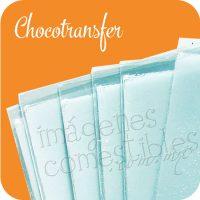 Chocotransfer para imprimir imágenes comestibles
