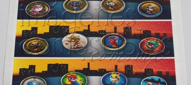 Cenefas con imágenes comestibles para decorar pasteles