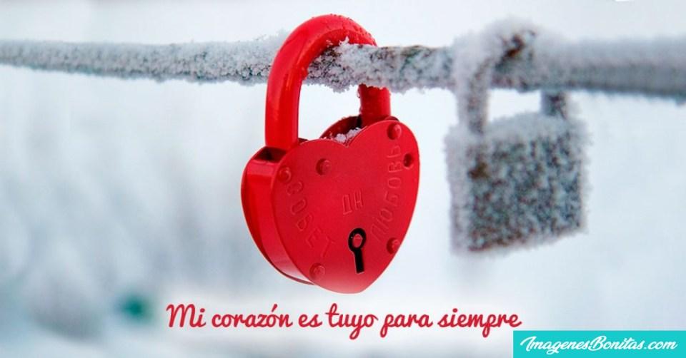 Frases de Amor Verdadero con Corazones