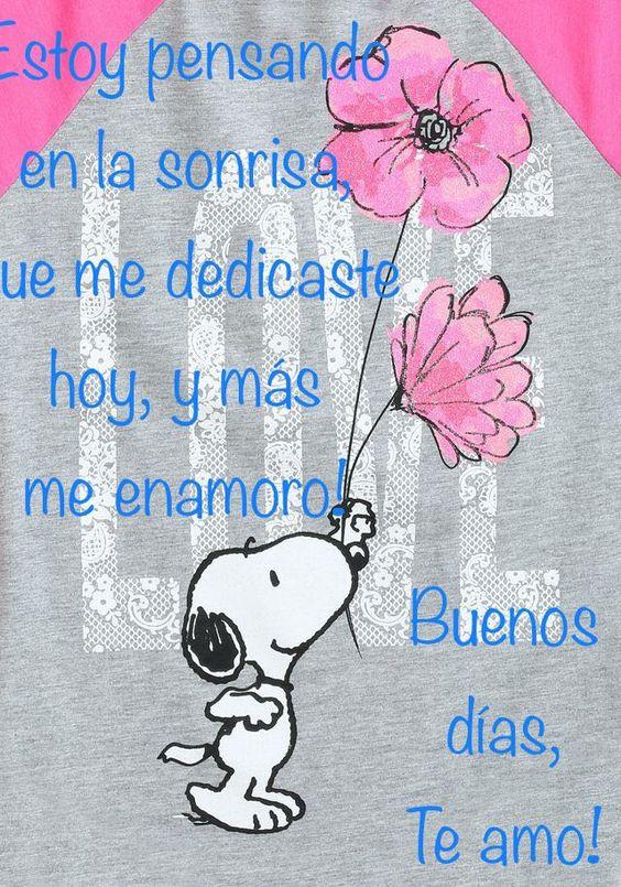 Frases de Buenos Días Mi Amor Para Desear Un Lindo Día
