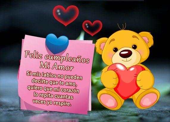 Tarjetas Cumpleaños Para Mi Amorcito