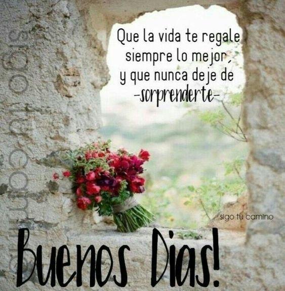 Imágenes, Frases, Mensajes y Gifs de Buenos Días Whatsapp
