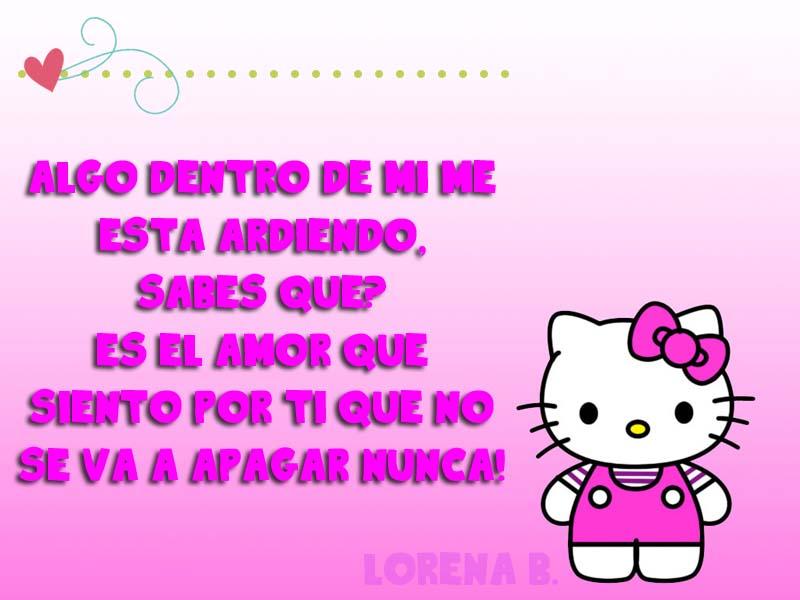 Imágenes de Hello Kitty con Frases