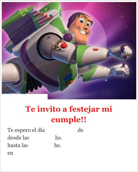 Invitaciones de Cumpleaños Toy Story 4 Para Imprimir Gratis