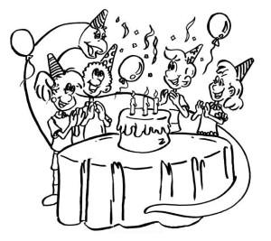 imágenes de cumpleaños para dibujar