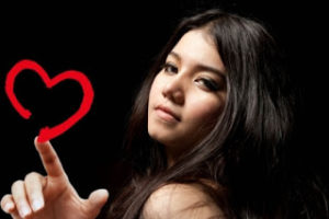 sms de amor corazon