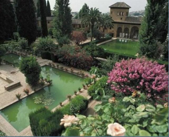 La Alhambra, España jardines del mundo
