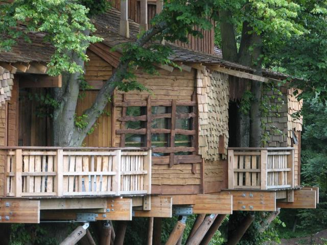 Casa del arbol en Jardín de Alnwick