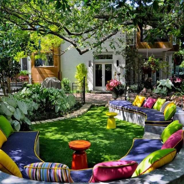 Espacio Especial en el jardin para descanso