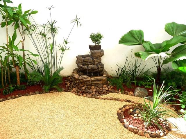 Fotos de jardines zen pequeño para el patio de tu casa