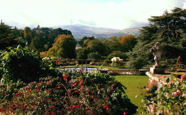 Jardín Bodnant, al norte de Gales