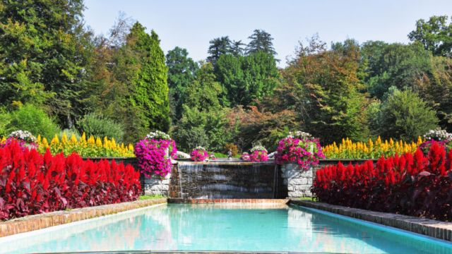 Jardines de villa Taranto