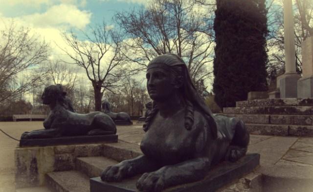 El capricho jardines de Madrid