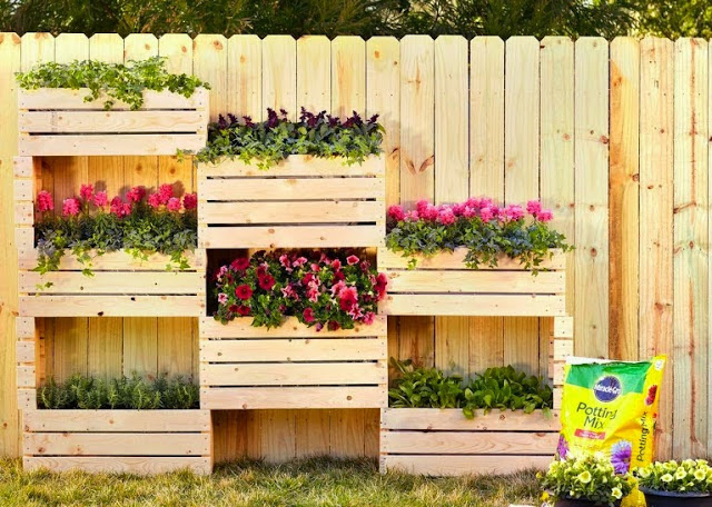 Imagenes Ideas decoracion para tu jardin vertical