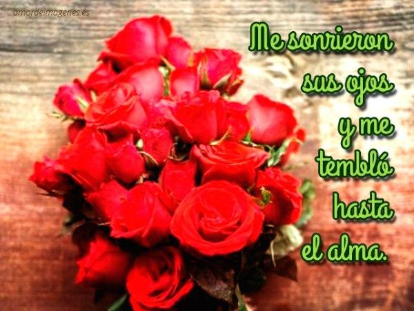 Imagenes de Rosas con versos de amor