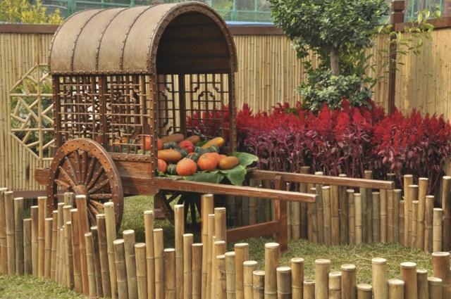 Imagenes De Jardines Decorados Con Bambu