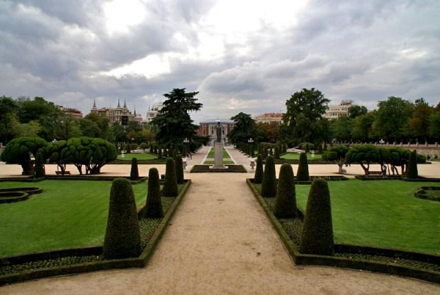 Parque del retiro jardin de españa
