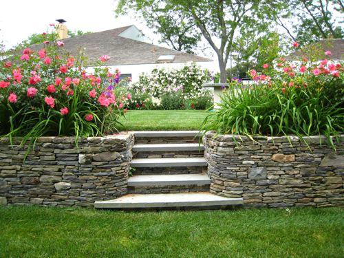 fotos de jardineras con piedras - Imágenes De Jardines