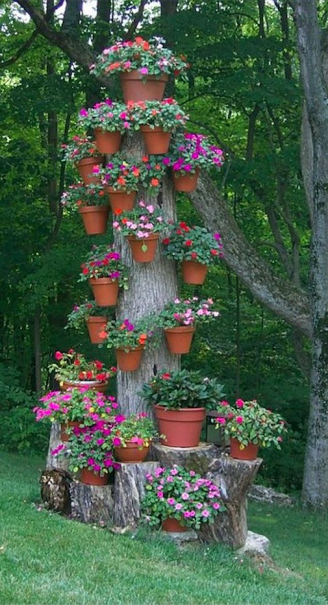 ideas jardin vertical