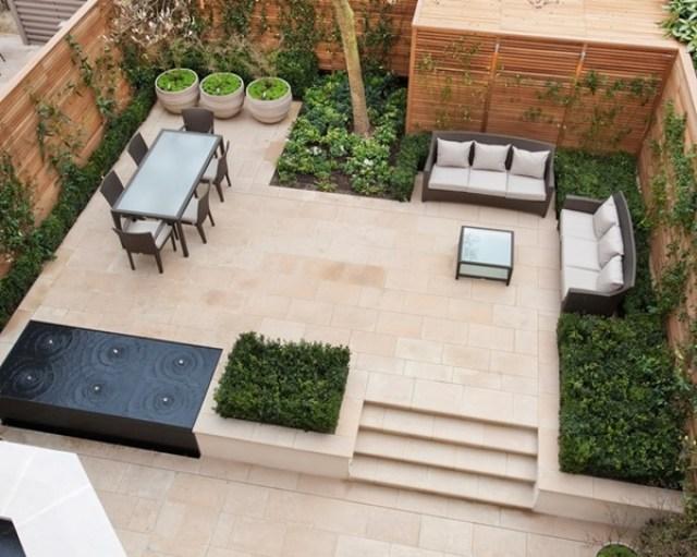 imagenes ideas de diseño jardines modernos