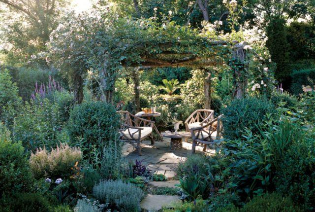 Fotos con ideas de espacios de descanso en el jardin